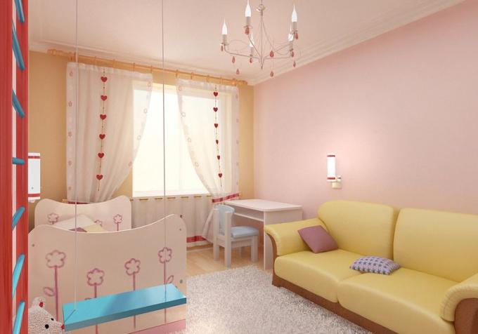 Как увеличить пространство маленькой комнаты