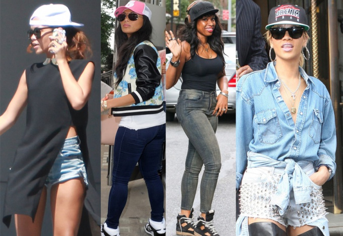 What to wear with a baseball cap girl