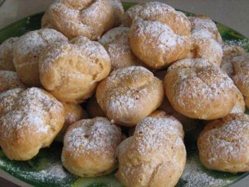 Пирожные заварные «Изысканные»