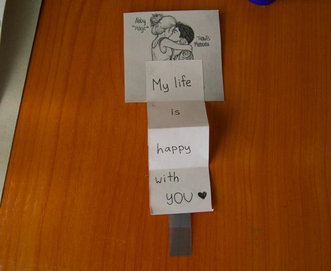 Как сделать подлинную открытку любимому человеку