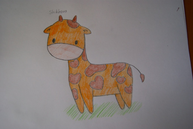 Рисунок секс жирафов