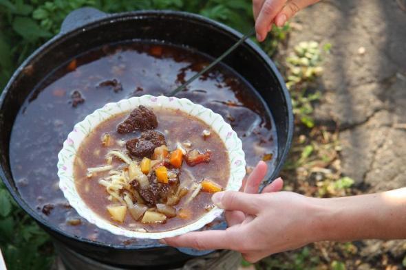 Как приготовить густой суп-лагман