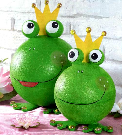 Царевны-лягушки для украшения сада Дизайн Жаба Зеленая