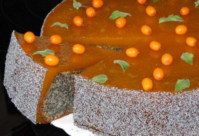 орехово-маковый торт