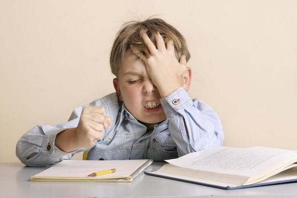 Нервный стресс у ребенка