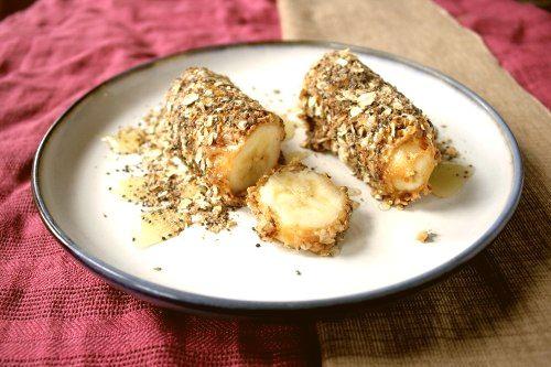 Вкусные банановые роллы
