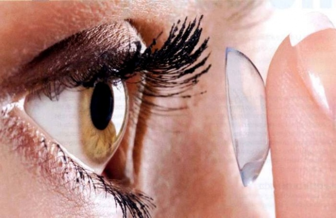 Is there any harm from contact lenses