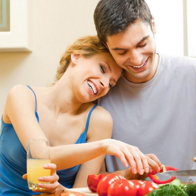 Вегетарианская семья