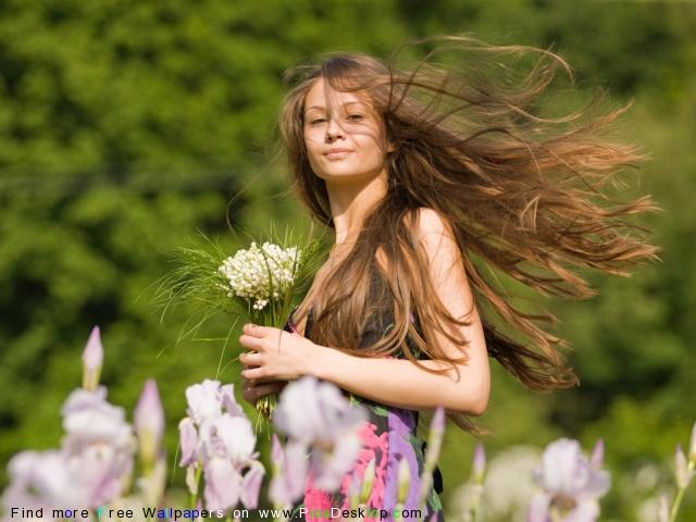 Дикие травы в помощь волосам