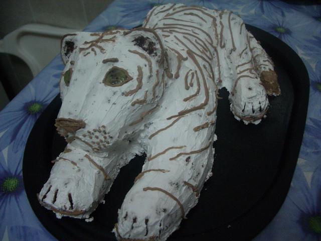 Готовим торт «Тигр»