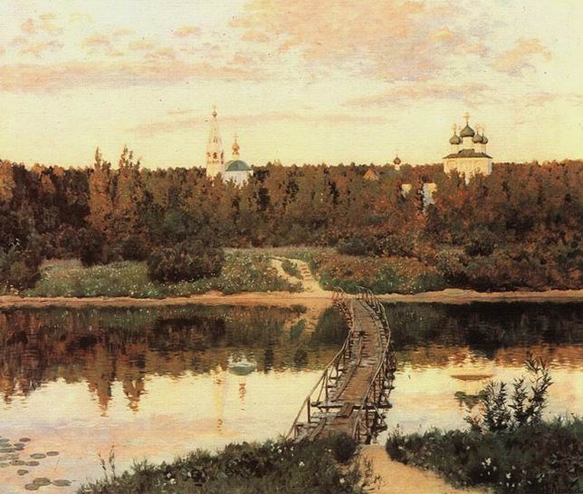 Исаак Левитан. «Тихая обитель», 1891