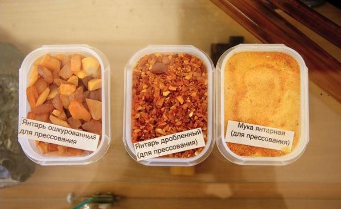 Varieties of amber