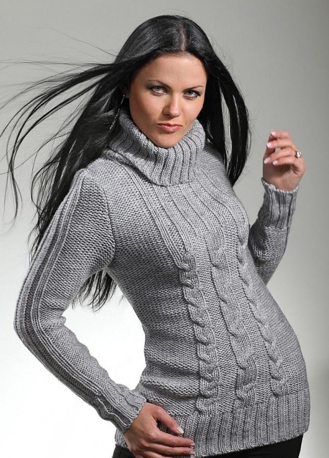 Как связать свитер без схемы