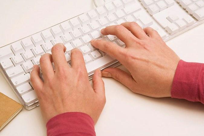 Как печатать всеми пальцами