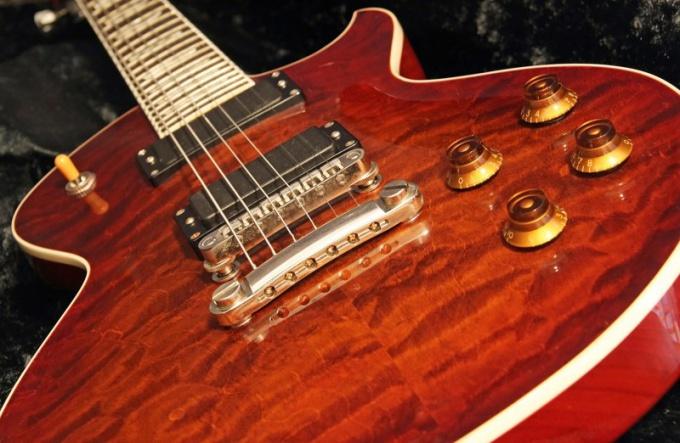 Посмотрите, какой у вашей гитары тип струнодержателя