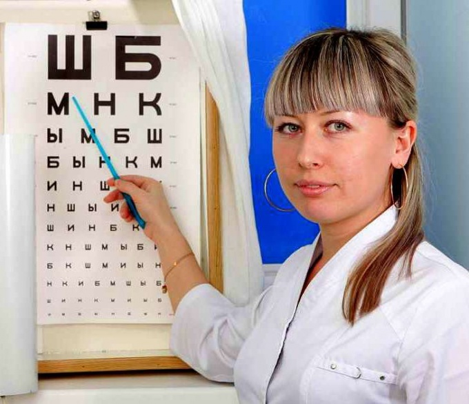 Periodic eye examinations are necessary for early detection of eye pathologies, many of which become chronic, and then irreversible