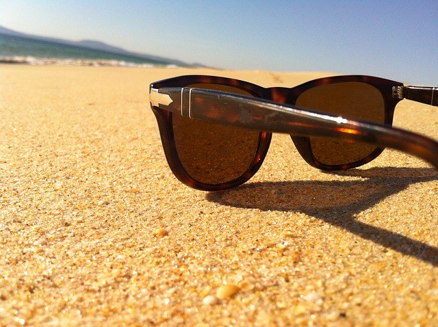 Sunglasses differ by the factor of absorption of visible light and ultraviolet rays.