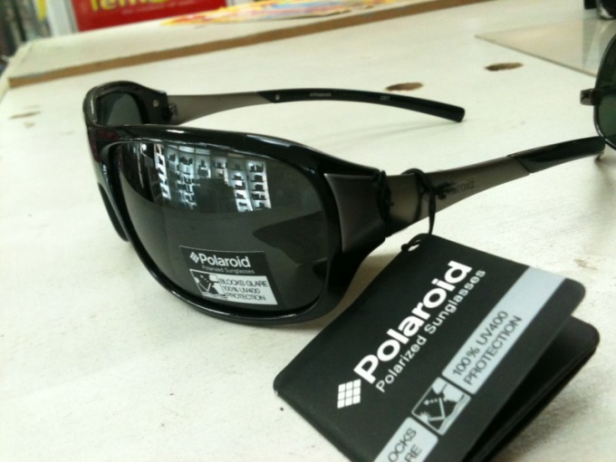 Branded eyewear Polaroid is not always polarized.