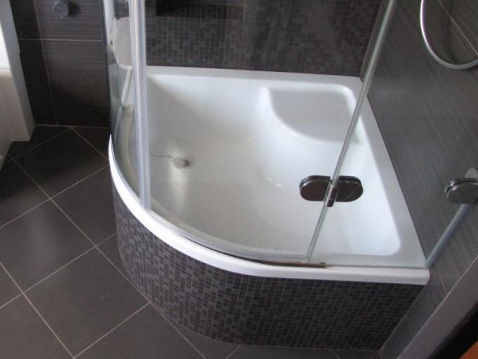 Как вместо ванны сделать душевую кабину