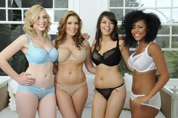 Модельные тенденции предписывают худобу, а в журналах снимают вполне обыкновенных девушек.