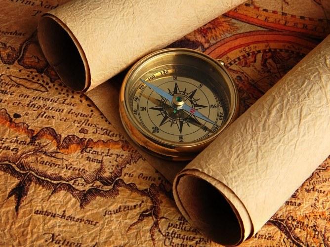 Looks like a compass