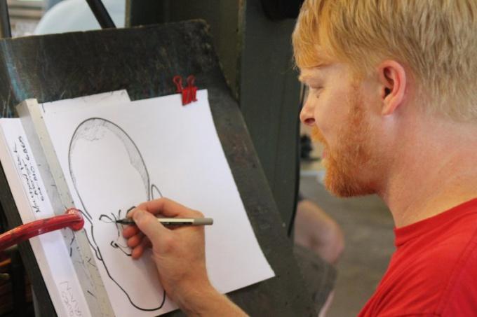 Поэтапная методика рисования предполагает детальный анализ объекта