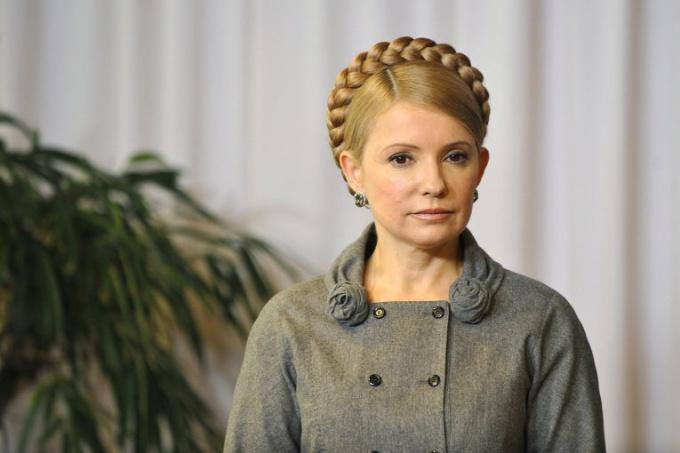 Образ Тимошенко неоднократно претерпевал изменения