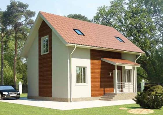 Дом можно утеплить с помощью минваты или пенопласта