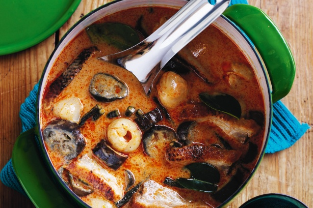 Готовим суп с баклажанами
