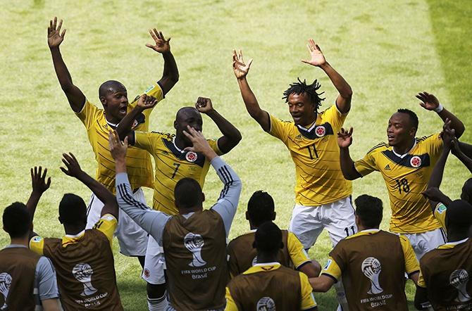 ЧМ 2014 по футболу: как проходила игра Колумбия - Кот-д-Ивуар