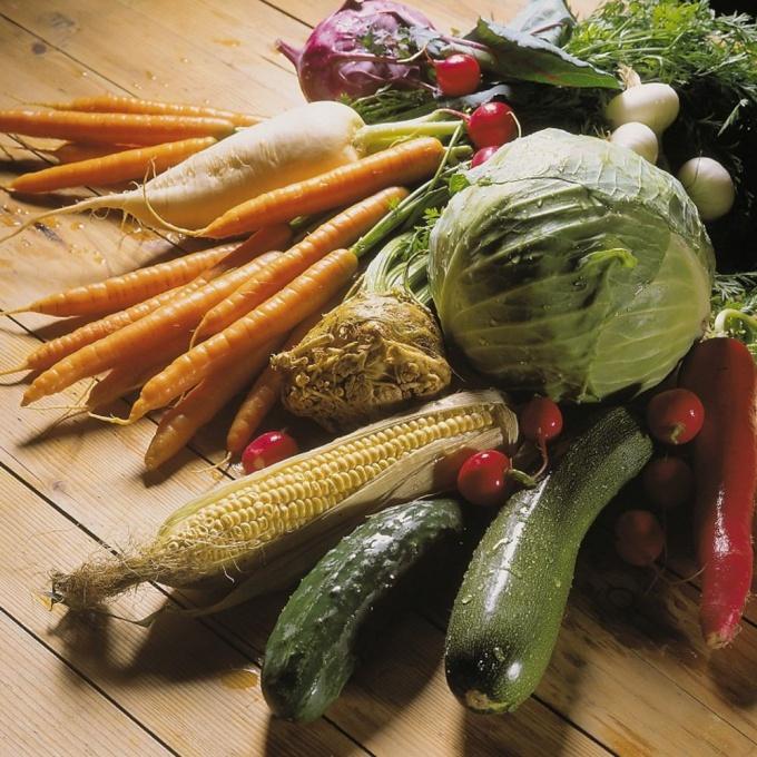 Правильное питание осенью и в конце лета