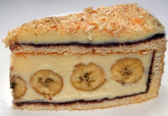 торт «Банановый рай»