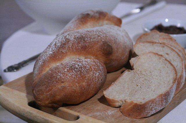 Как приготовить витой хлеб