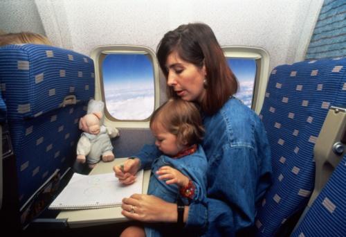 Перелет с ребенком в самолете
