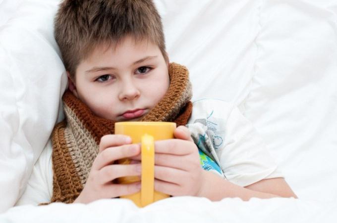 Как лечить больное горло у детей