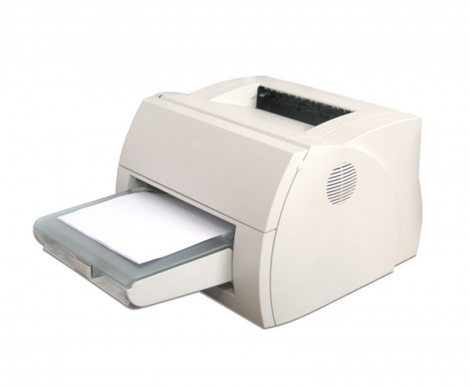 Стоимость отпечатка у лазерного принтера очень низкая