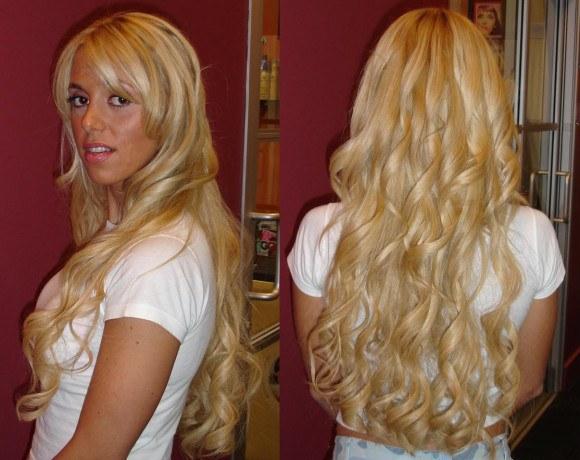 Внешний вид накладных волос