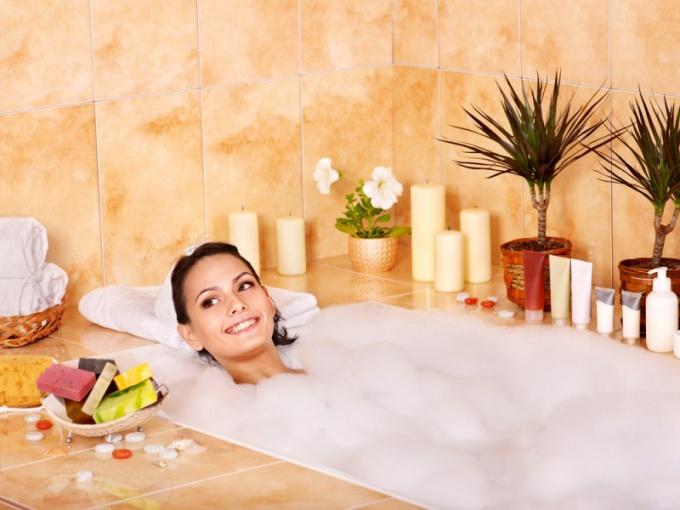 Вечерняя расслабляющая ванна