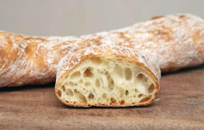 Как приготовить итальянский хлеб «Стирато»