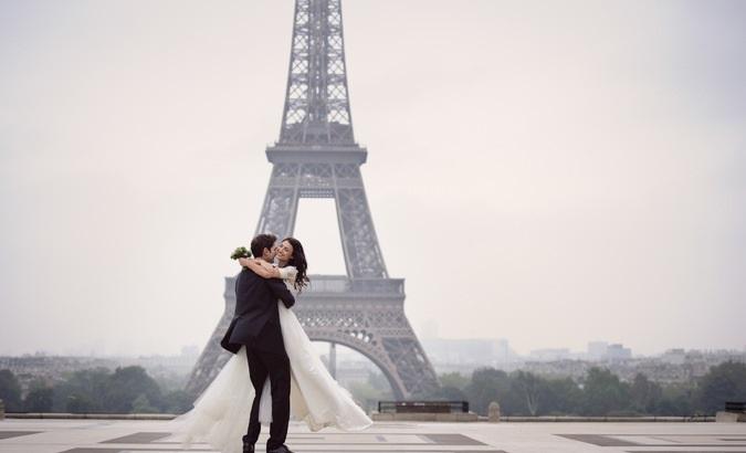 Свадьба в Европе: Париж или Венеция?