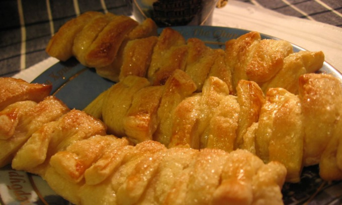 Аппетитное печенье теплый вечер