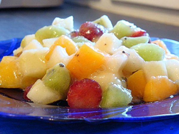 Вкусный салат маседуан