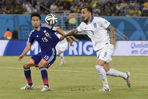 ЧМ 2014 по футболу: как проходила игра Япония - Греция