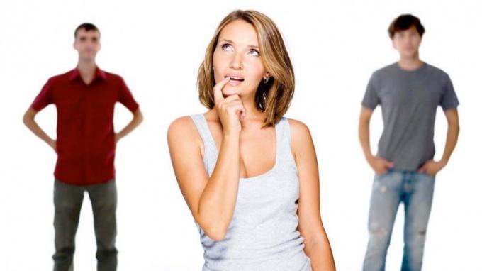 Как сделать выбор между мужчинами