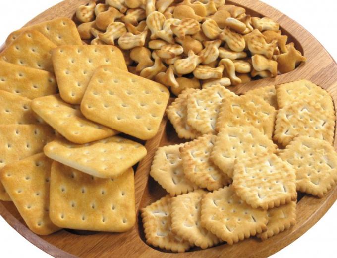 Как приготовить галетное печенье