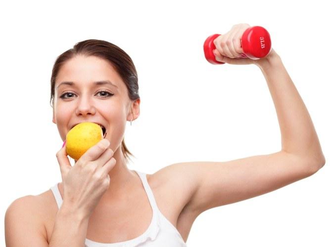 Как правильно питаться при занятии фитнесом