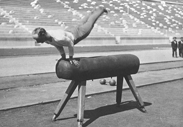 Олимпиада, 1896 год. Гимнастика.