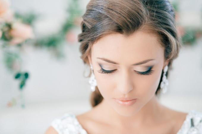 Зимний свадебный макияж – какой он?