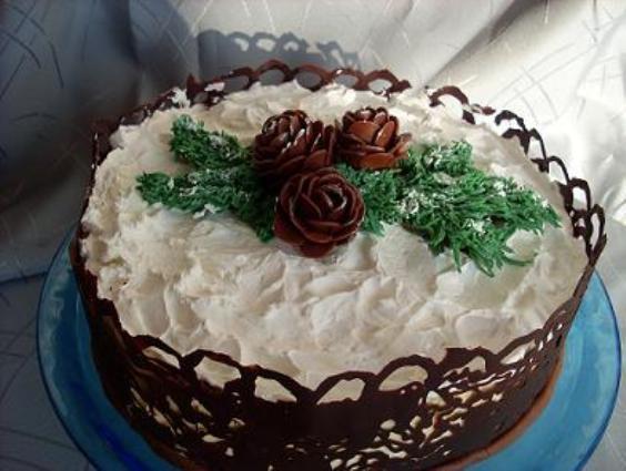 """Как приготовить торт """"Шишки"""""""
