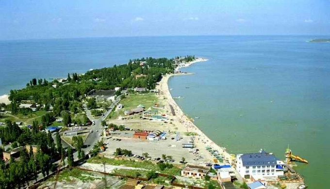 Where you can inexpensively relax on the Azov sea